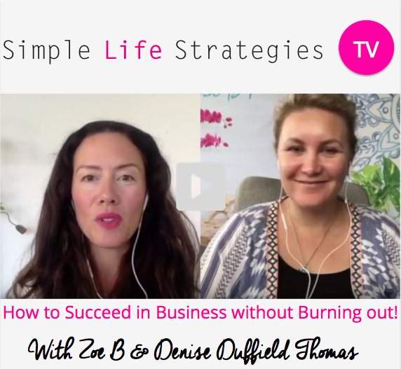 How to Succeed in Business Without Burning Out – Denise Duffield Thomas Interview